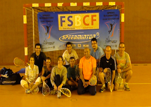 speedbadminton - Dragui training